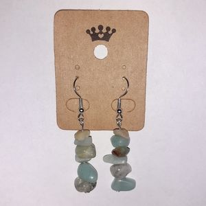 Healing Amazonite Stone Earrings
